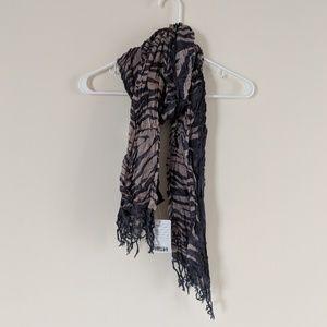 NWT zebra print scarf Urban Outfitters